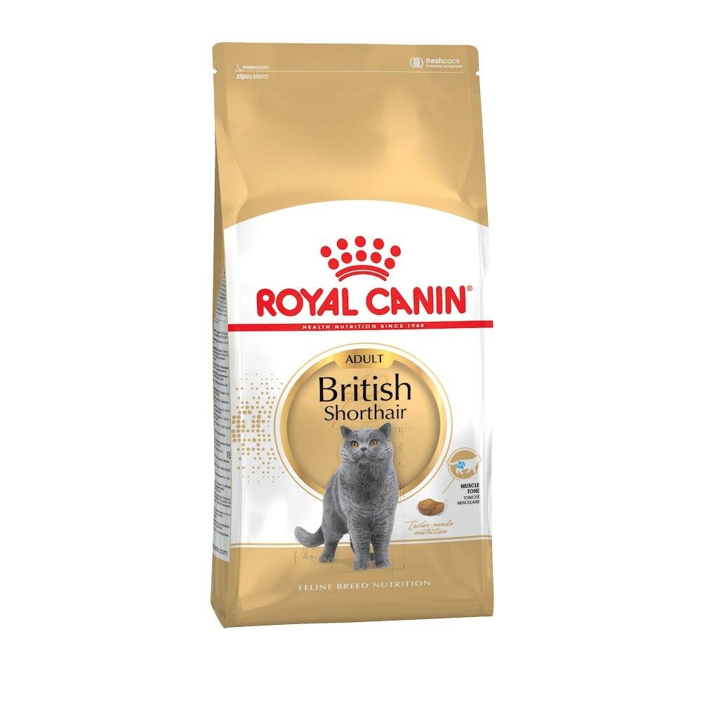Royal Canin British Shorthair Adult для взрослых кошек британской короткошерстной породы, 4 кг