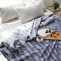 100%Cotton Blankets for bed Swaddles Newborn Wrap Bath Towel fur blanket Jacquard cotton towel quilt summer thin blanket