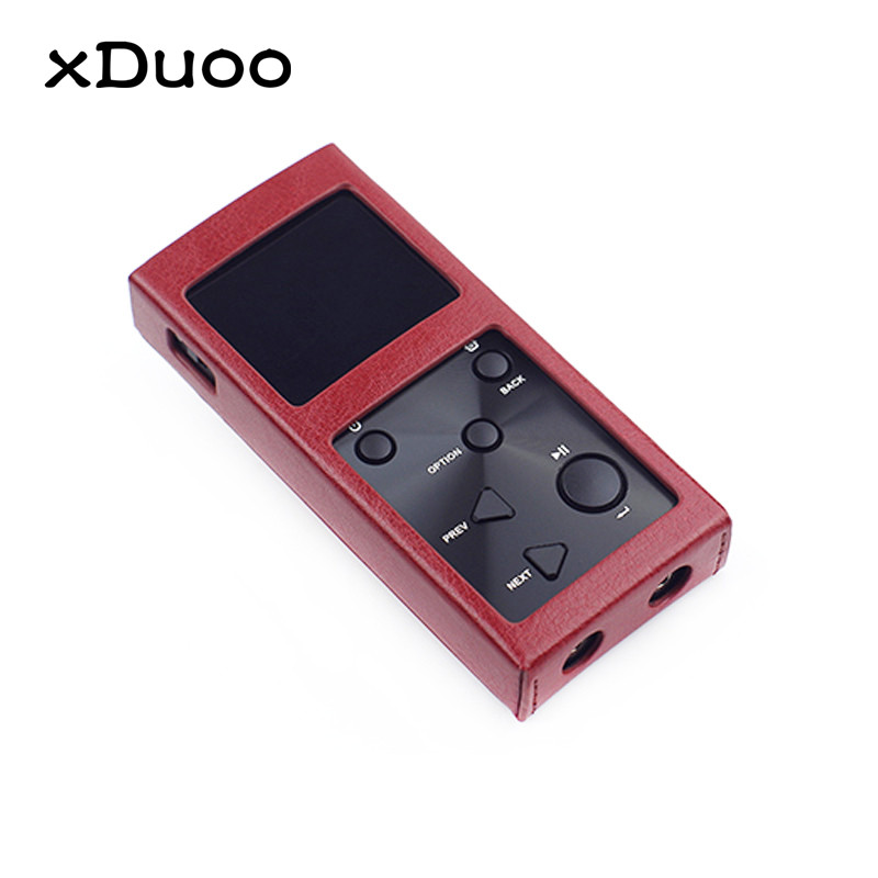 XDUOO X3 המקורי נרתיק עור MP3 MP4 נגן מוסיקה MP3 אחסון נייד אביזרי מקרה מגן עור מקרה עבור Xduoo X3