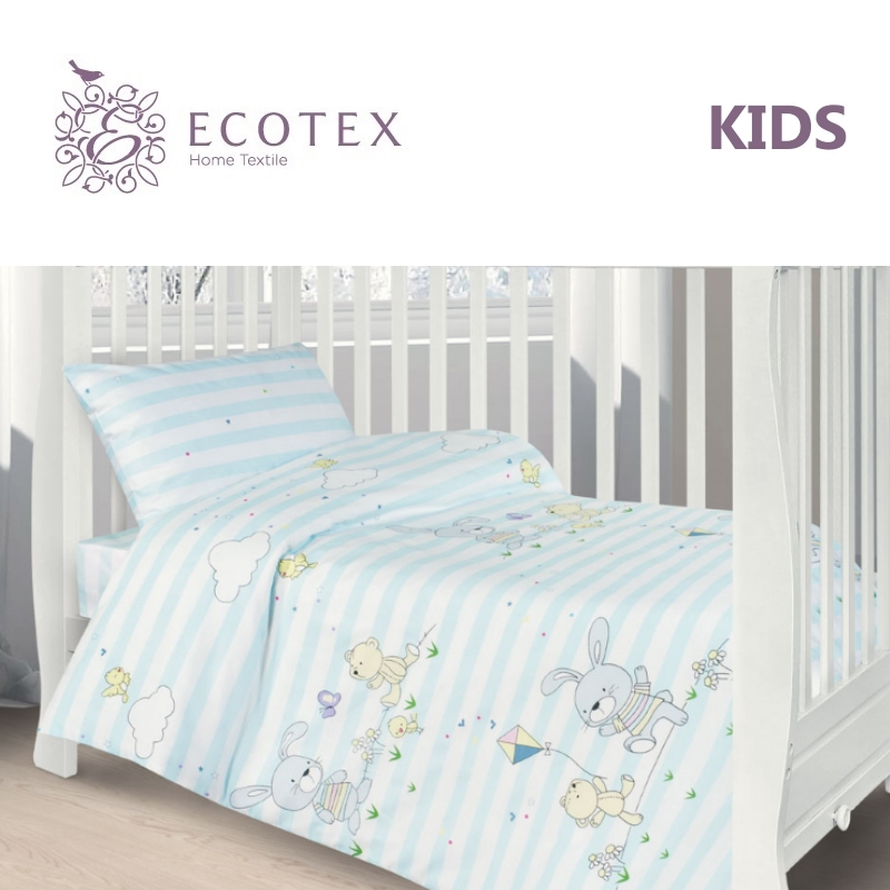 Фото - Baby bedding Happy frie,100% Cotton. Beautiful, Bedding Set from Russia, excellent quality. Produced by the company Ecotex flower print bedding set