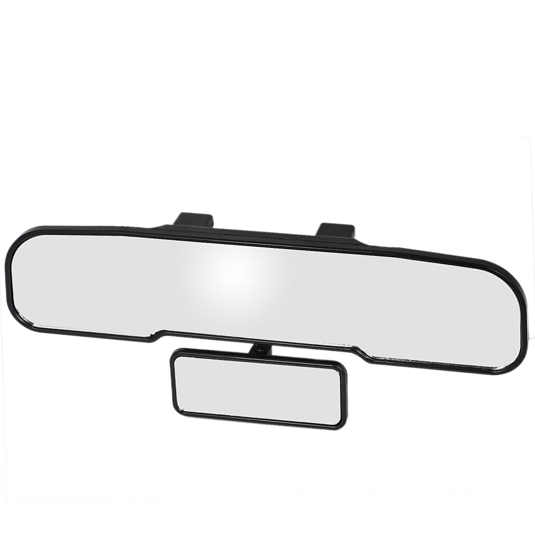 x autohaux auto car interior plastic frame wide angle viewing rearview mirror w blind spot. Black Bedroom Furniture Sets. Home Design Ideas