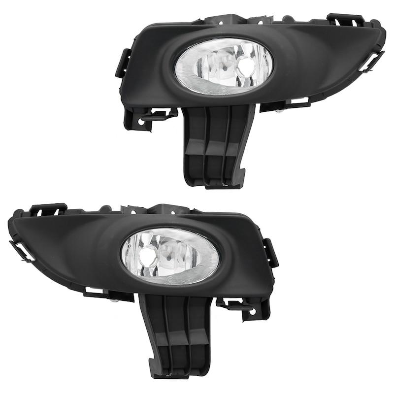 Antibrouillard pour Mazda 3 2004 2005 2006 2007 2008 berline clair antibrouillard-paire de lampes de conduite BN8V51690A BN8V51680A