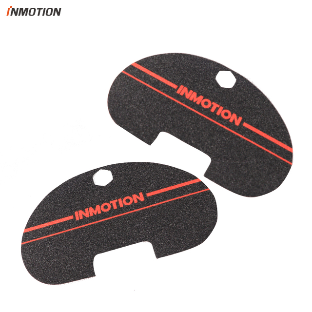 Original INMOTION V8 Red Pedal Sticker Sandpaper