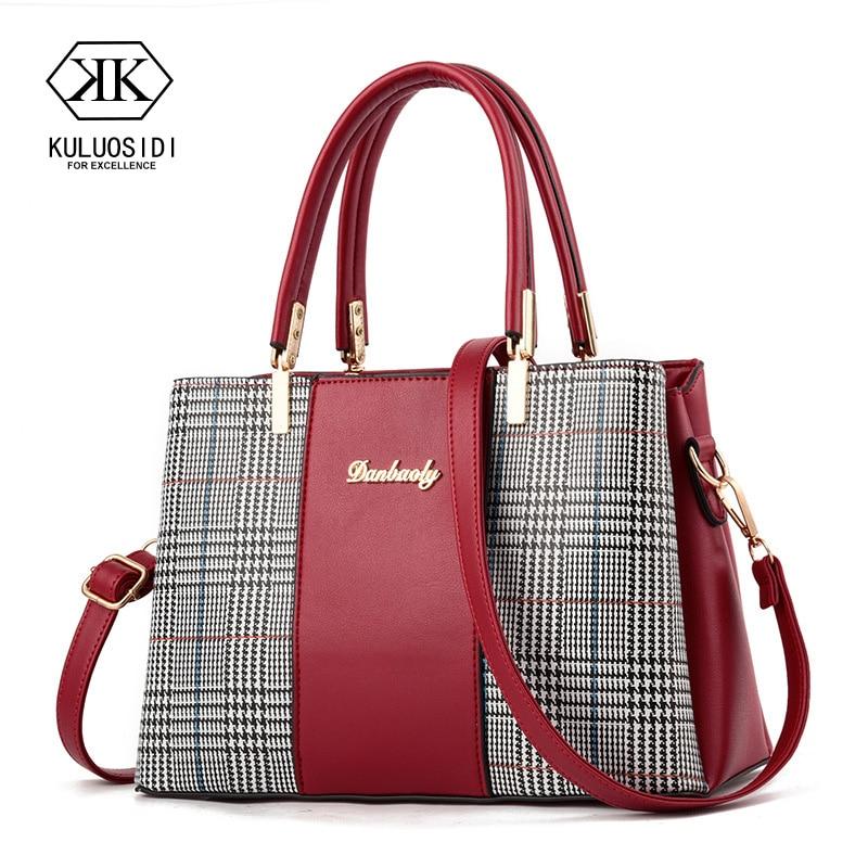 Fashion Luxury Handbags Women Bags Women Leather Handbag Shoulder Bag For Women 2019 Female Ladies Hand Bags Sac A Main