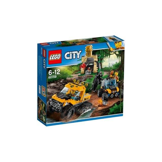 """Конструктор LEGO CITY Миссия """"Исследование джунглей"""" 60159-L"""