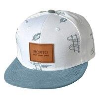 Unisex Letters Patch Graffiti Print Flat Bill Hip Hop Snapback Baseball Hat Cap