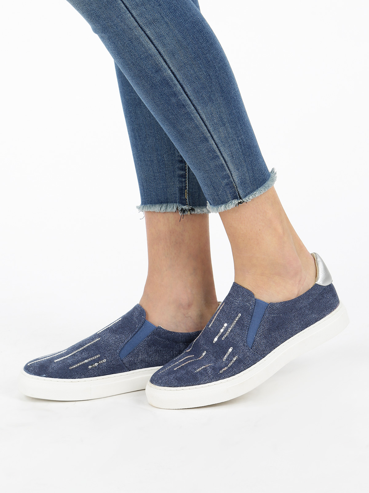 SOLADA Sneakers Effect Jeans
