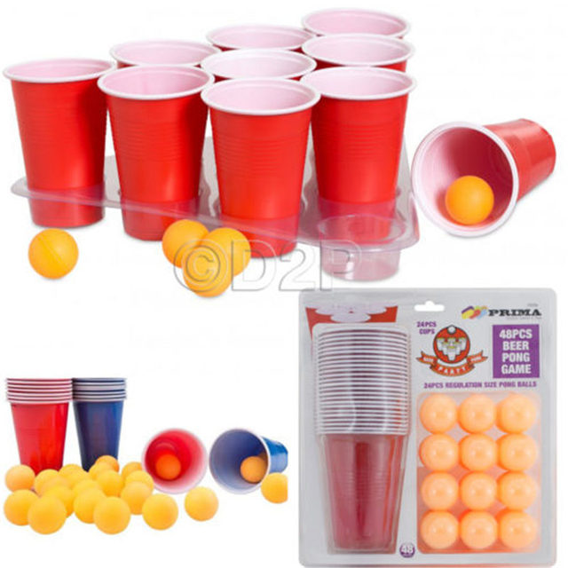 Party Drinking Game Beer Pong Kit