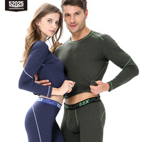 52025 Mens Thermal Underwear Winter Women's Thermal Underwear Sports Long Johns Men Thermal Underwear For Sports Thermal Pants