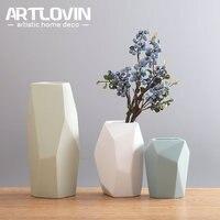 Modern Blue and White Ceramic Flower vase decoration home Chinese decorative porcelain vases for wedding decoration centerpieces
