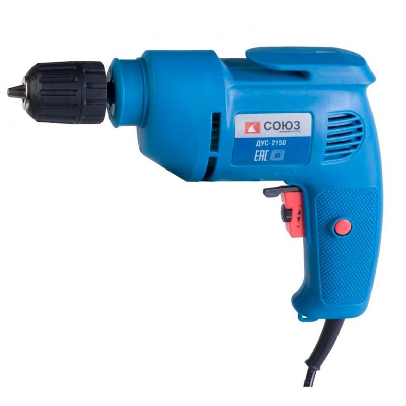 Electric drill SOYUZ DUS-2150 dmiotech 20 pcs electric drill motor carbon brushes 10mm 11mm 13mm 17mm 6mm 7 5mm 7mm 8mm 9mm