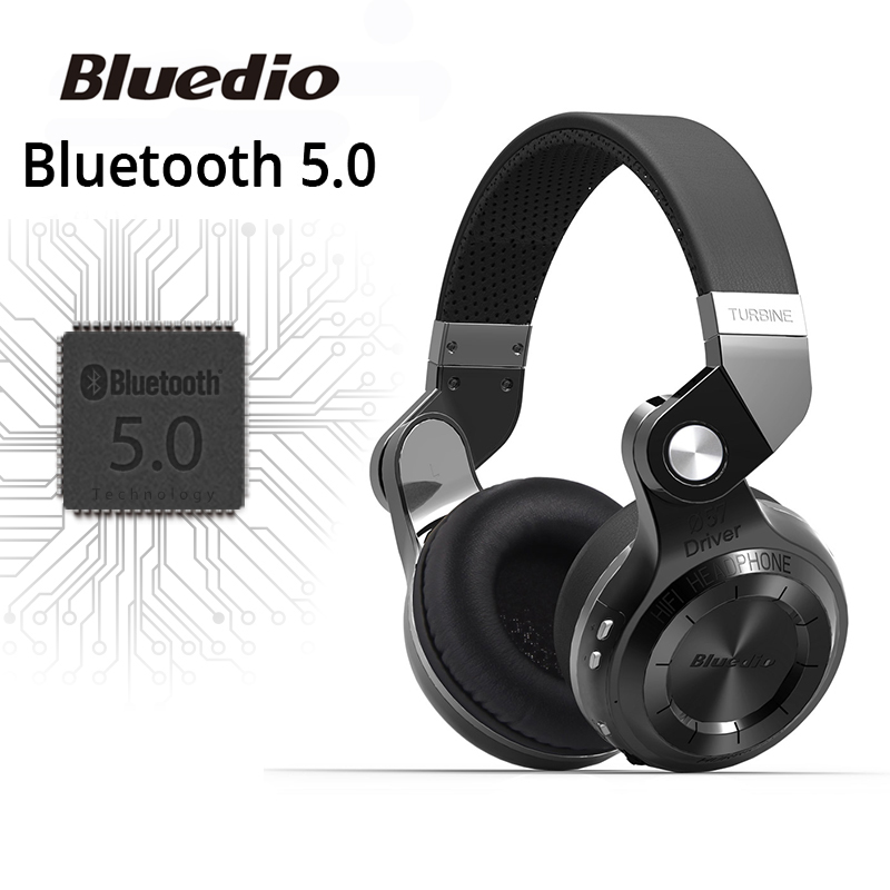 все цены на Original Bluedio T2S bluetooth headphones with microphone wireless headset bluetooth for Iphone Samsung Xiaomi headphone онлайн