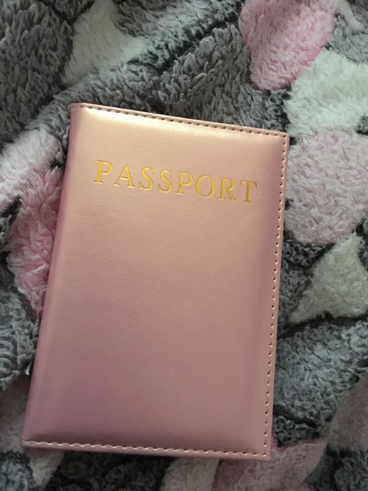Casual PU Leather Passport Covers Travel Accessories ID Bank Credit Card Bag Men Women Passport Business Holder wallet Case photo review
