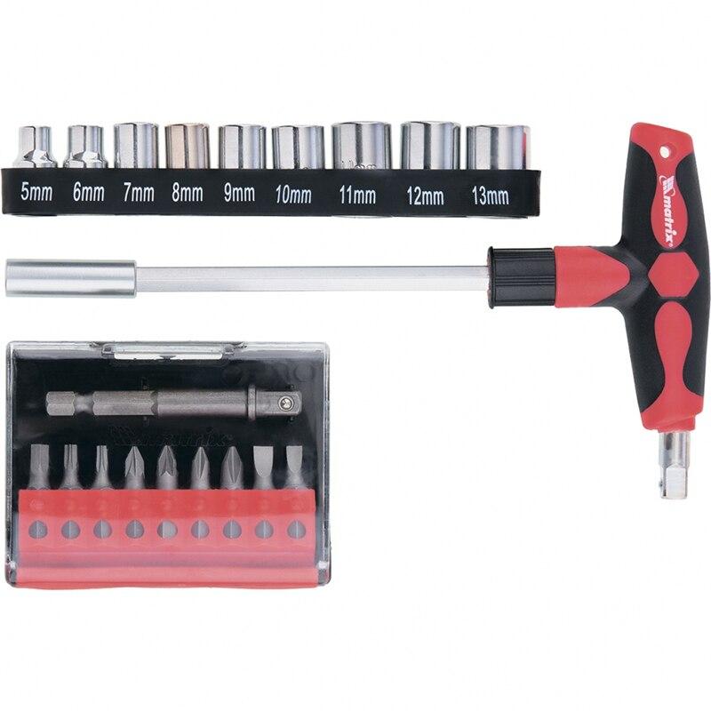 Reversible screwdriver MATRIX 11574