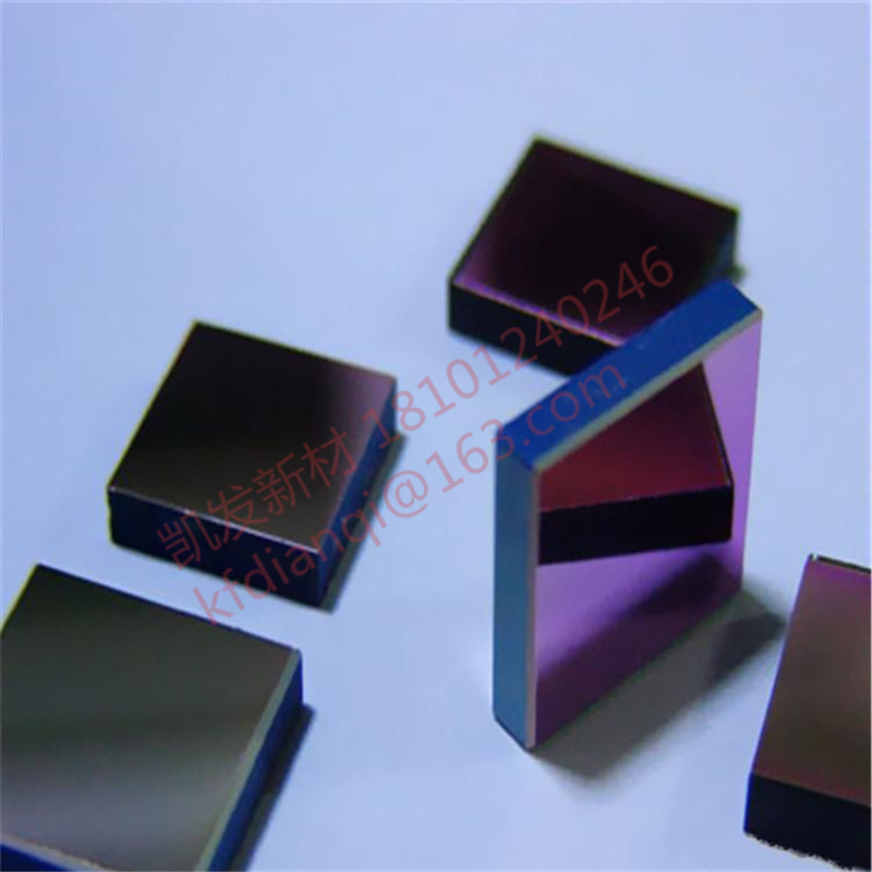 High-purity single-crystal Germanium wafer/ D35.2*4mm / Ge substrate infrared window film / double optical-grade polishing
