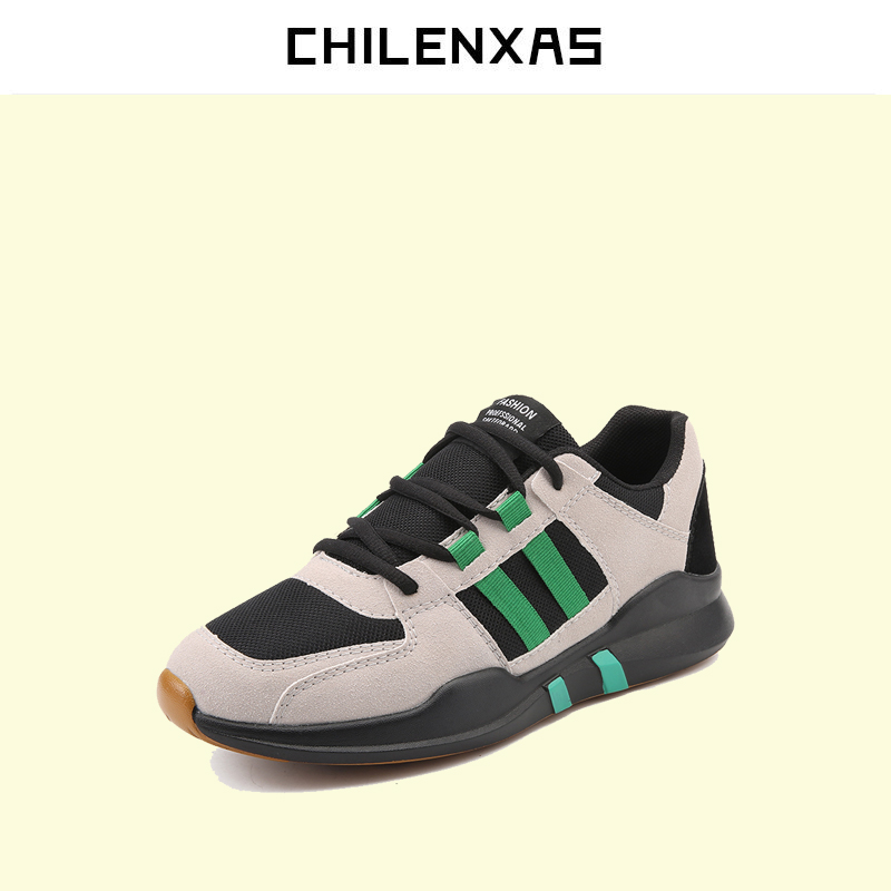 CHILENXAS 2017 Spring Autumn New Fashion Shoes Men Casual Breathable Hard-wearing Outdoor Light Anti-odor Solid Comfortable kredige anti odor zip tide leather shoes hard wearing mens casual shoes pu breathable waterproof plate shoes british style 39 44