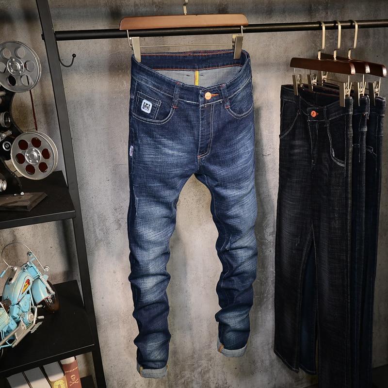 2018 new Jeans Men Fashion Brand-Clothing Male blue black Pants man quality Skinny Jeans For Men