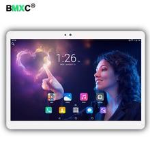 Bmxc Новинка 3G 4 г LTE 10.1 дюймов планшетный ПК Android 7.0 8-ядерный 4 ГБ Оперативная память 64 ГБ Встроенная память 5mp IPS планшеты телефон Планшеты компьютер mt8752