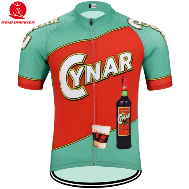 old style Tour de France team cycling jersey Short sleeved clothes Summer  MTB Bicycle Retro jersey Ropa ciclismo maillot 2ade81bfc