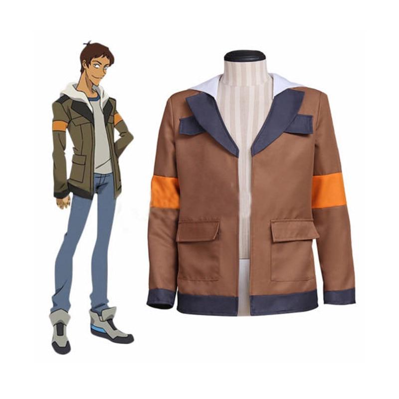 Man Coat Anime Voltron Legendary Defender Costumes Man Hoodie Hood Jacket Sweatshirt Halloween Party Cosplay Costume