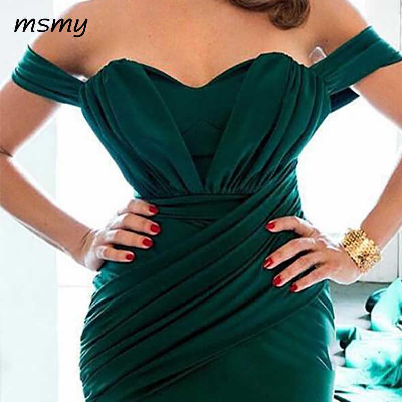 אמרלד ירוק שמלת ערב ארוך שמלות עבור מפותלת גוף לנשף מסיבת שמלת אירוע רשמי שמלת בתוספת גודל vestido דה festa לונגו