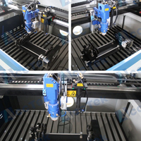 New Cnc Machinery Dual Function Double Heads Metal Pipe Laser Cutting Machine Steel Tube Laser Metal