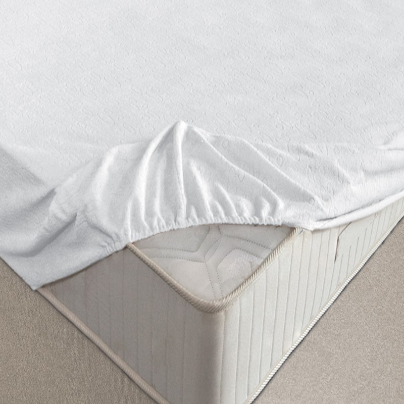Waterproof bed sheets with elastic AQUASTOP Flannel.