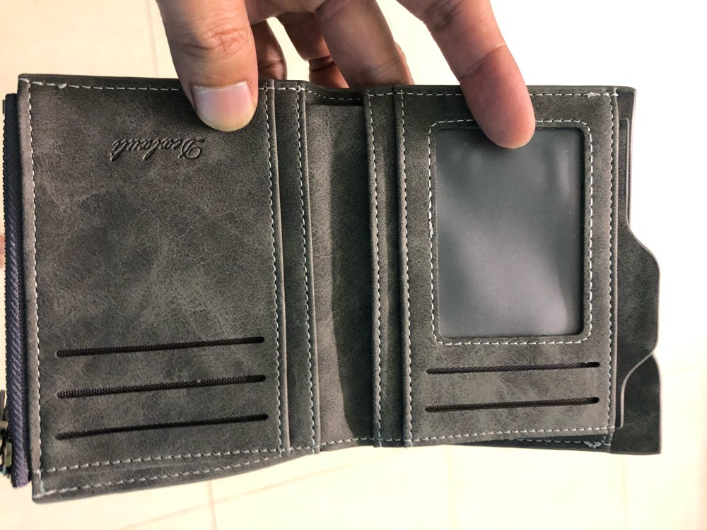 Wallet Men Soft Leather wallet with removable card slots multifunction men wallet purse male clutch top quality !