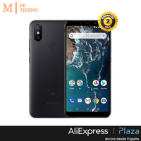 [Global Version] Xiaomi Mi A2 Smartphone 5.99 FHD + (4GB RAM + 64GB ROM, Dual SIM, Dual Camera 12 + 20 MP, Android One *)