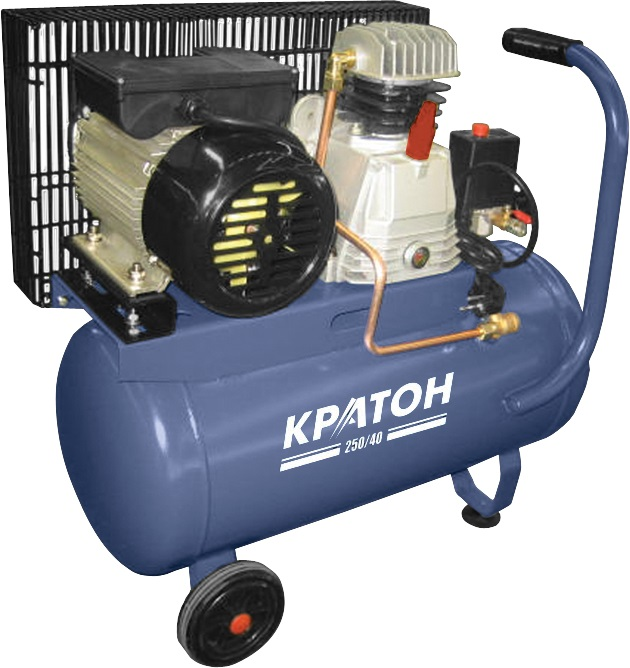 Compressor KRATON with belt transmission AC 250/40 compressor kraton with belt transmission ac 630 110 bdw