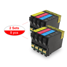 2 Sets Compatible Ink Cartridge 29XL T2991 with one time chip ink for EPSON XP-255 XP-257 XP-352 XP-355 XP-452 XP-455