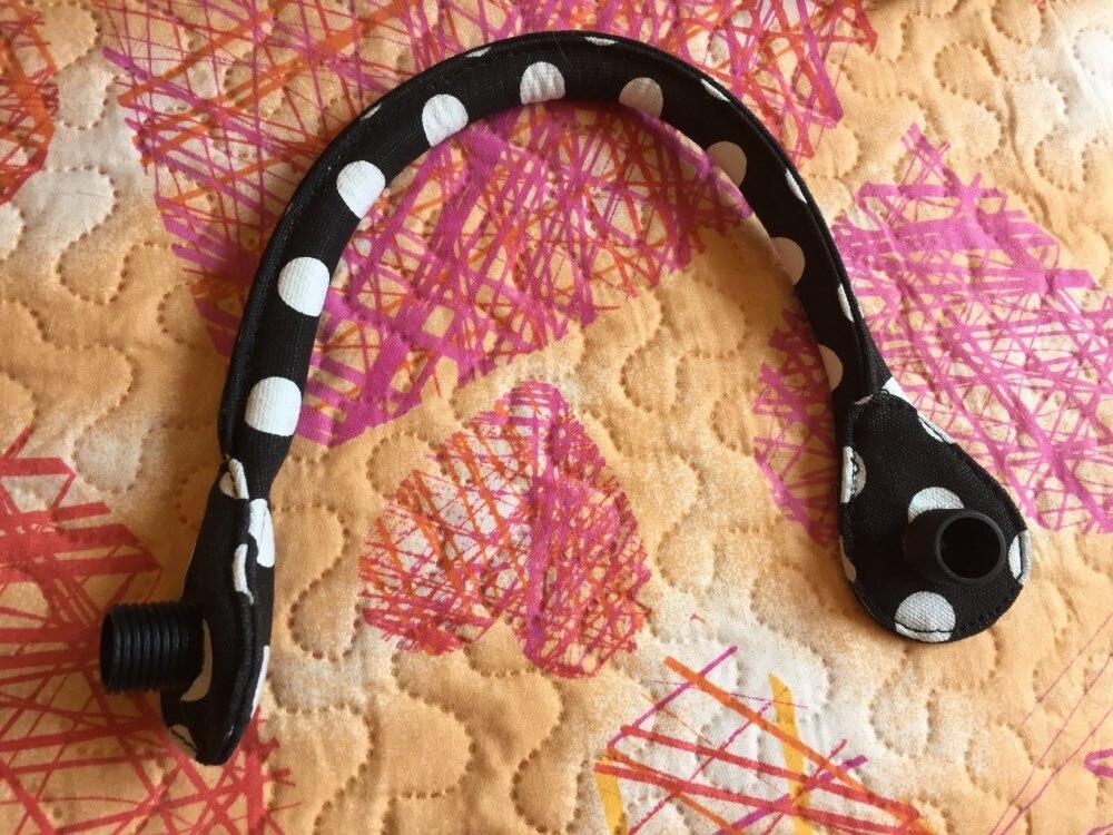 TANQU korte ronde Flora Canvas stoffen handvat met Mini voering voering voor Obag Mini O Bag Damestassen schouder handtas photo review
