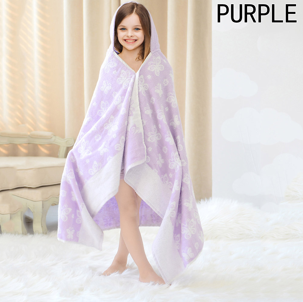 Lovely Cute Animal Shape Kid Baby Bath Towel Hooded Baby Towel Bathrobe Cloak Baby Blanket