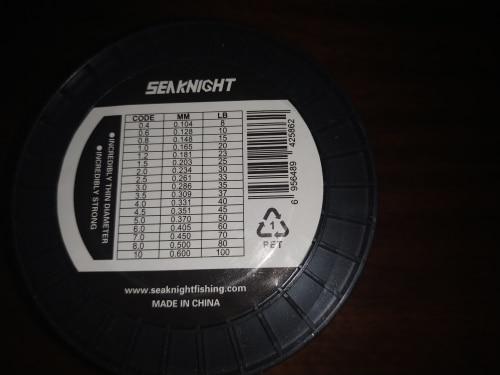 SeaKnight TriPoseidon Series 500M 1000M PE Braided Fishing Line 4 Strands 8 10 20 30 40 60LB Strong Multifilament Fishing Line