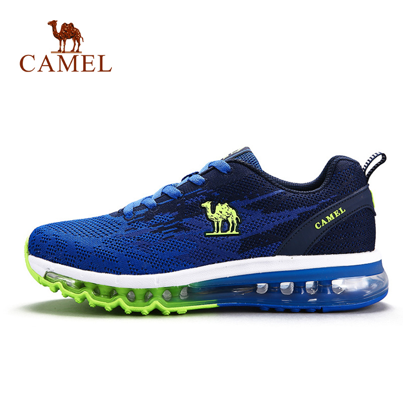 CAMEL Couple Running Shoes Air Cushion Max Sports Breathable Lightweight Shock Absorption Platform Outdoor Sneakers