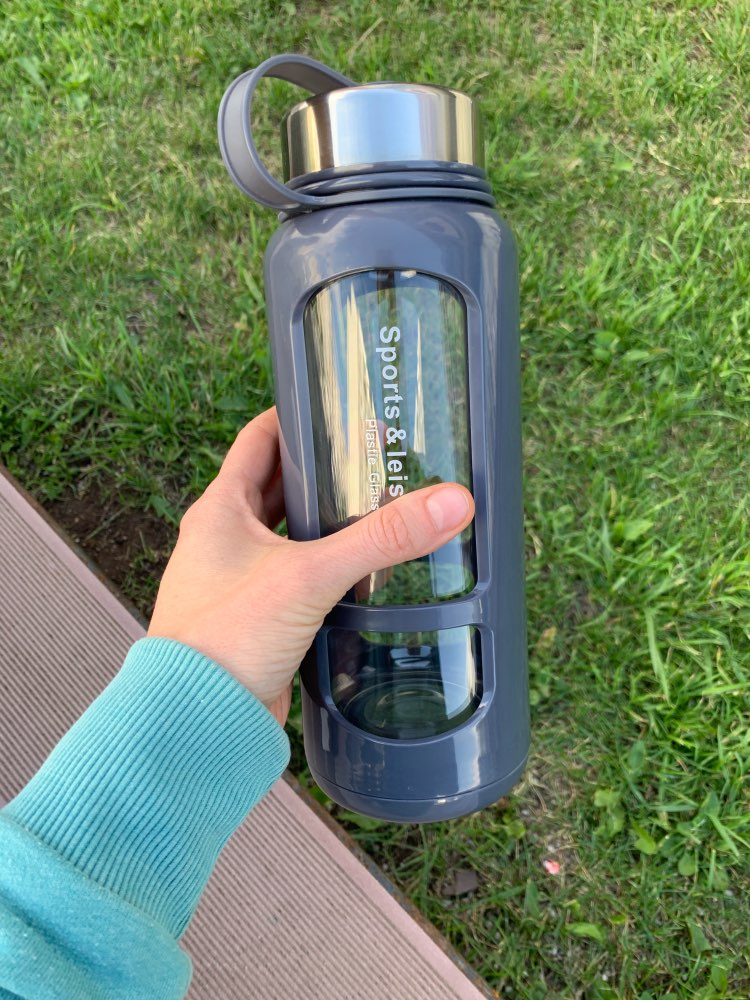 JOUDOO 700ml 1000ml Portable Glass Water Bottles Outdoor Space Bottle Sports Water Bottle Leak proof Bike Climbing Gift 35-in Water Bottles from Home & Garden on AliExpress - 11.11_Double 11_Singles' Day