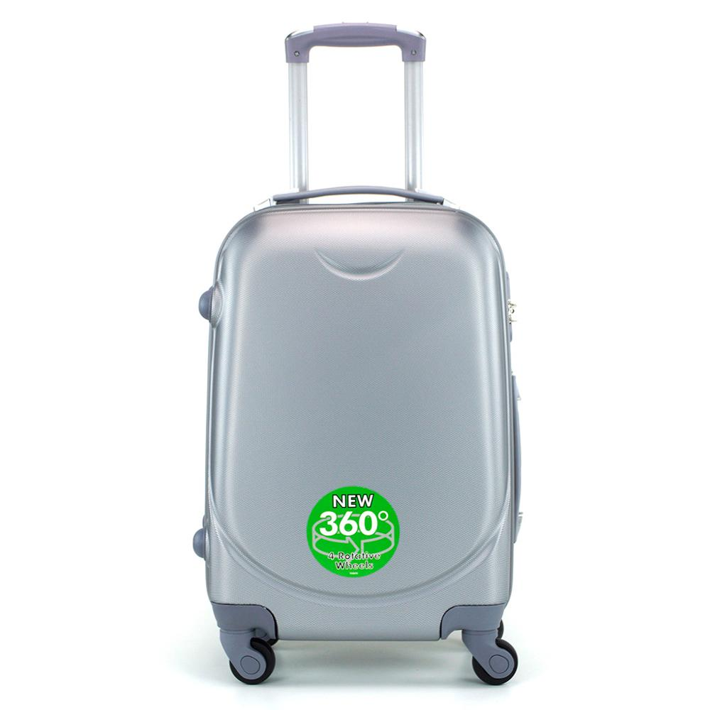 Cabin suitcase rigida with 4 wheels