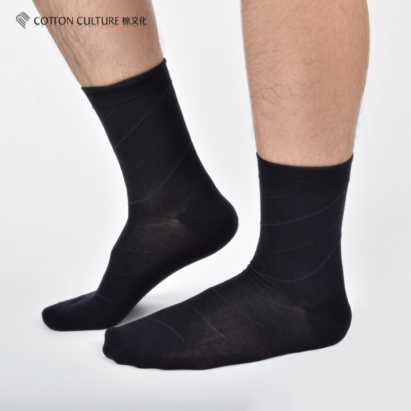 COTTONCULTURE 2018 New Arrival Brand Cotton Fiber Classic Business Mens Socks Mens Deodorant Dress Socks Winter Warm SCM13AW03