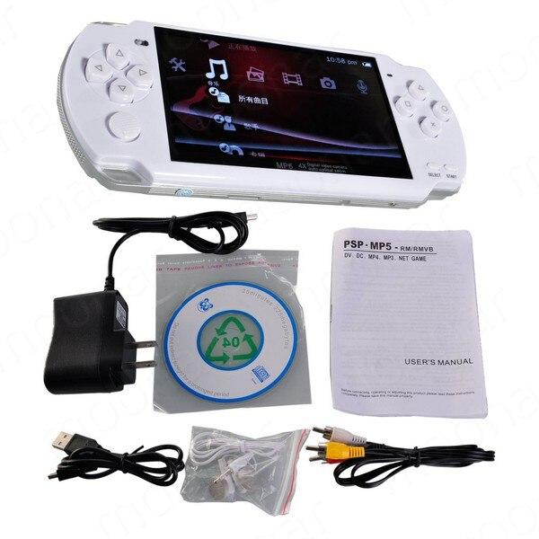 8 Gb 4,3 Zoll Pmp-handspiel-spieler Mp3-mp4 Mp5 Video Fm Kamera Tragbare Spielkonsole Schnelle Schrecklicher Wert Neueste Kollektion Von Kostenlos Integrierte 5000 Spiele Videospiele