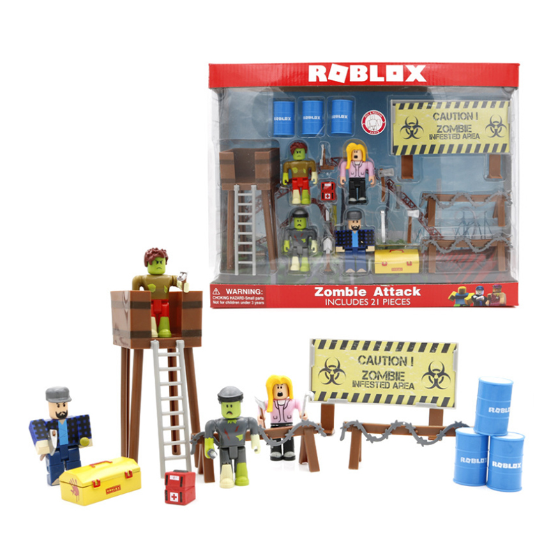 US $6 58 30% OFF|9style Roblox Figure jugetes 2019 7cm PVC Game Figuras  Roblox Boys Toys for roblox game-in Blocks from Toys & Hobbies on