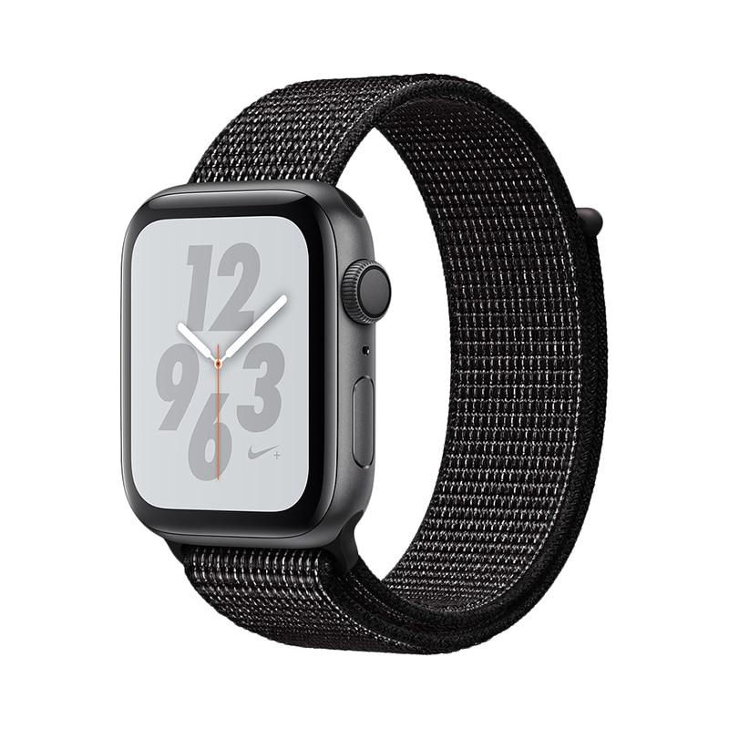 Smart Watch Apple Watch S4, 44mm, Nike + Sport Loop gimto gm246 brand men watch steel luxury gold sport clock quartz chronograph
