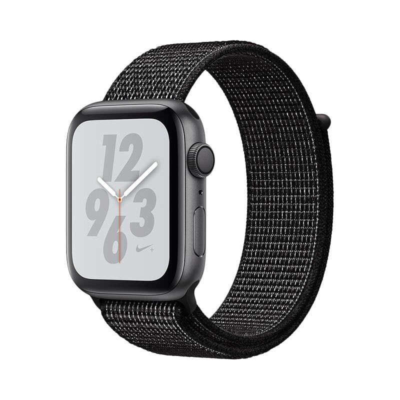 Купить со скидкой Смарт-часы Applе Watch S4, 44 мм, Nike+ Sport Loop 0-0-12