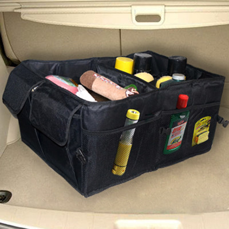 New Good Quality More Strong Car Back Folding Storage Box Multi