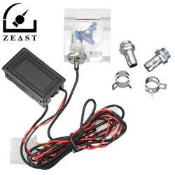 Светодиодный термометр 3 Way расходомер для воды охлаждающей жидкости охладитель Системы & 2 острые шипы цепляют