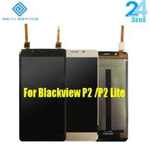 Ограниченное предложение 5.5 «для Оригинал Blackview P2/P2 Lite ЖК-дисплей Экран дисплея + Touch Стекло планшета Ассамблеи Замена 1920×1080 P Бесплатная доставка