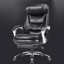 High quality Computer Chair home office chair simple reclining boss armchairs leather seats