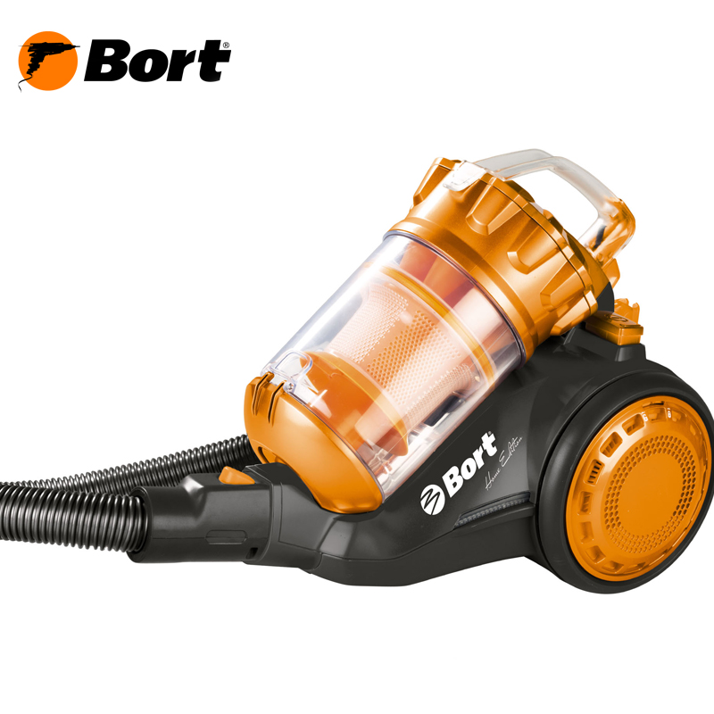 The electric vacuum cleaner BSS-1800N-O Multicyclone ORANGE-BLACK пылесос bort bss 1800n eco multicyclone green white