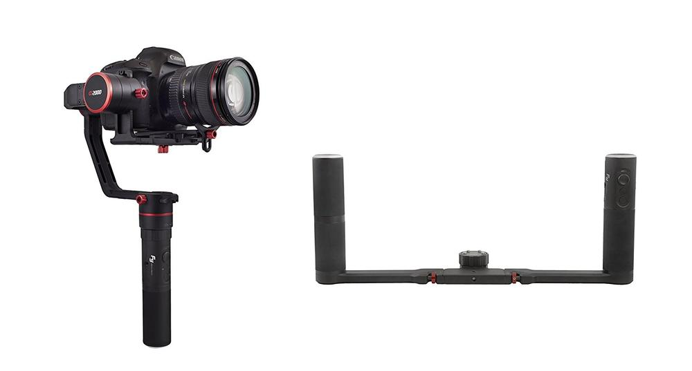 <font><b>Feiyutech</b></font> Feiyu Dual handle System 2-hand holder system for the Feiyu <font><b>a2000</b></font>/a1000 DSLR/Mirroless <font><b>Gimbal</b></font> image