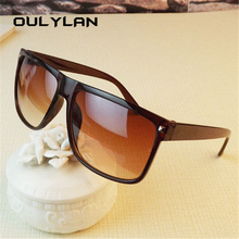 Oulylan Oversized Sunglasses Women Luxury Brand Designer Big Frame Sun Glasses M