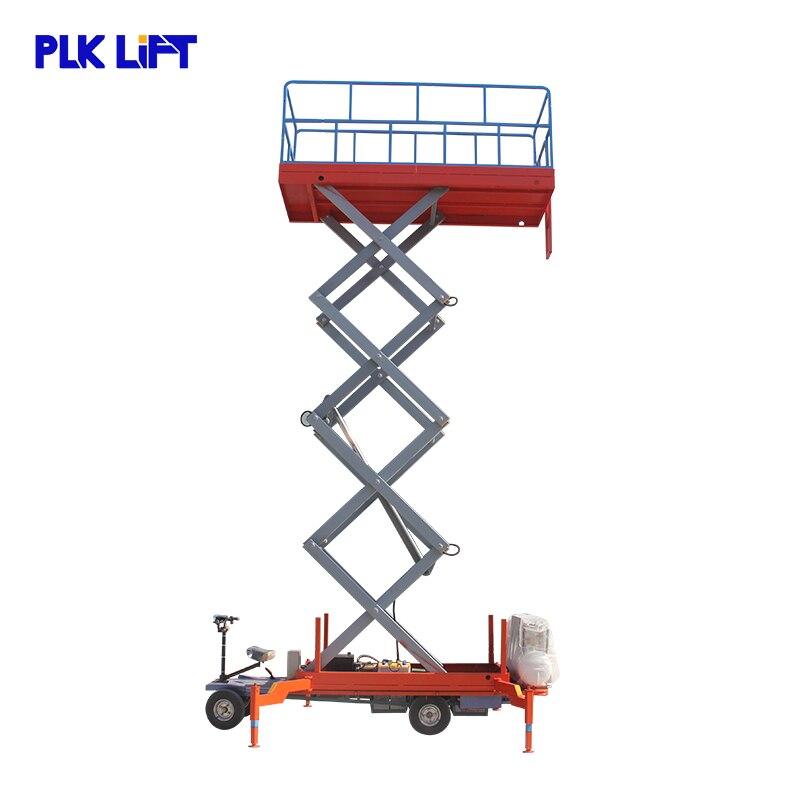 Мобильный ножничный подъемник для грузовика 6 м до 16 м